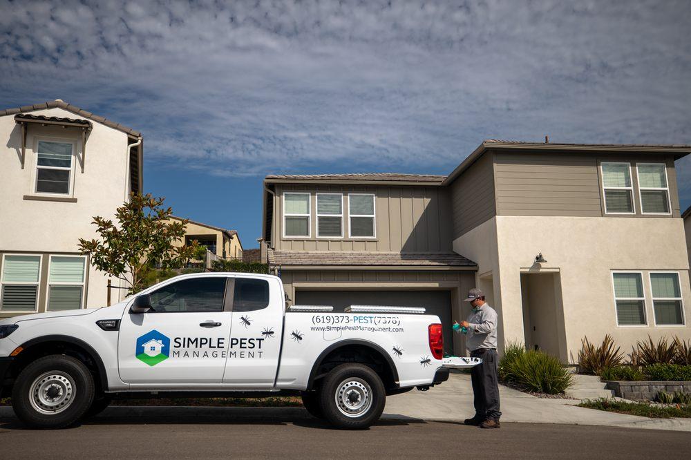 Simple Pest Management: 10739 Woodside Ave, Santee, CA