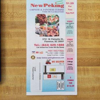 Peking Chinese Restaurant Chicken Wings 3825 W Palmetto St