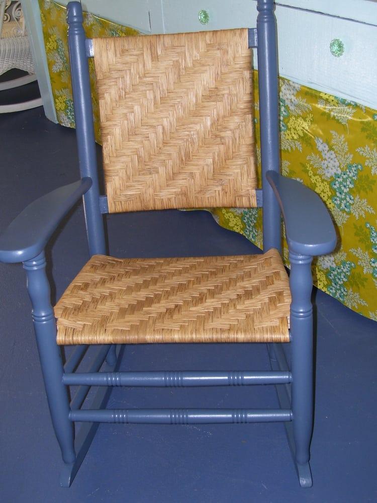 Kennedy rocker new splint seat and back jan 2012 39 yelp for Jardin wicker