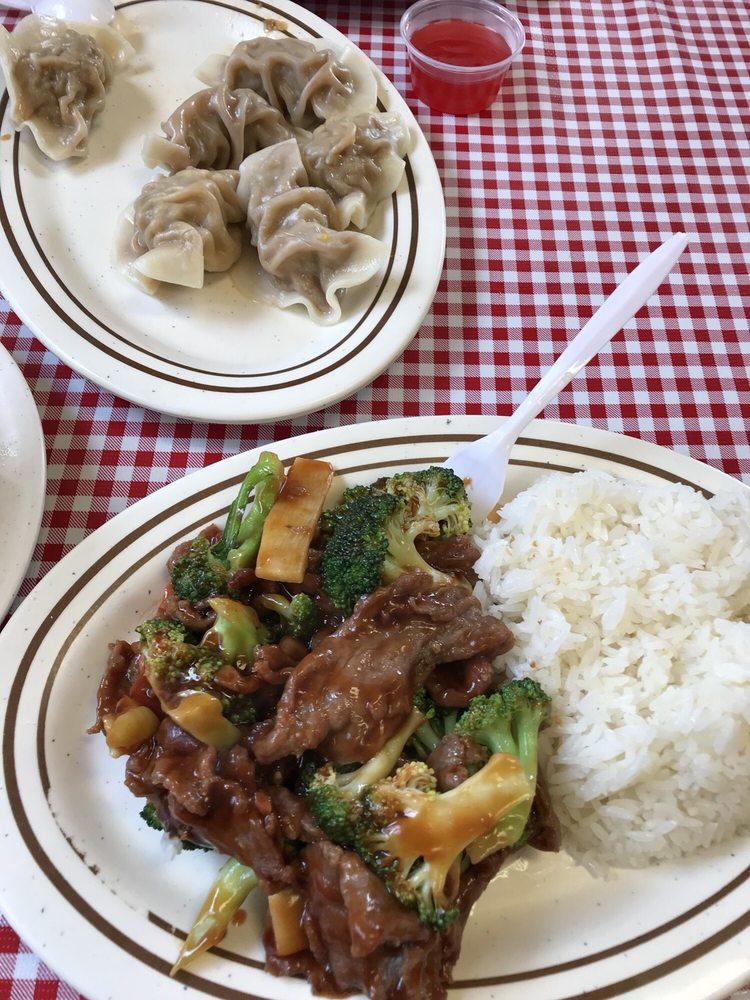 Food from Panda Lin