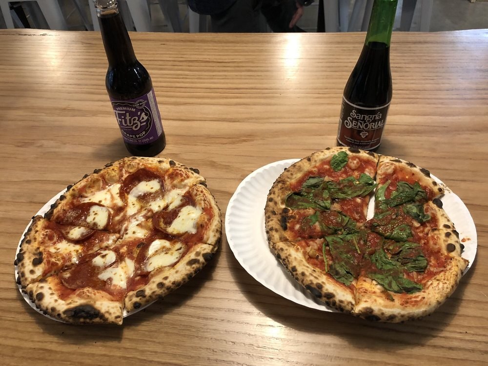 Food from The Pizza Revolution