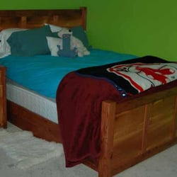 Photo Of Blue Dog Furniture   Missoula, MT, United States. Panel Bed And