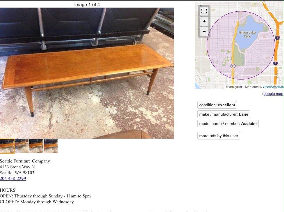 Seattle Furniture Furniture Stores 4133 Stone Way N Fremont