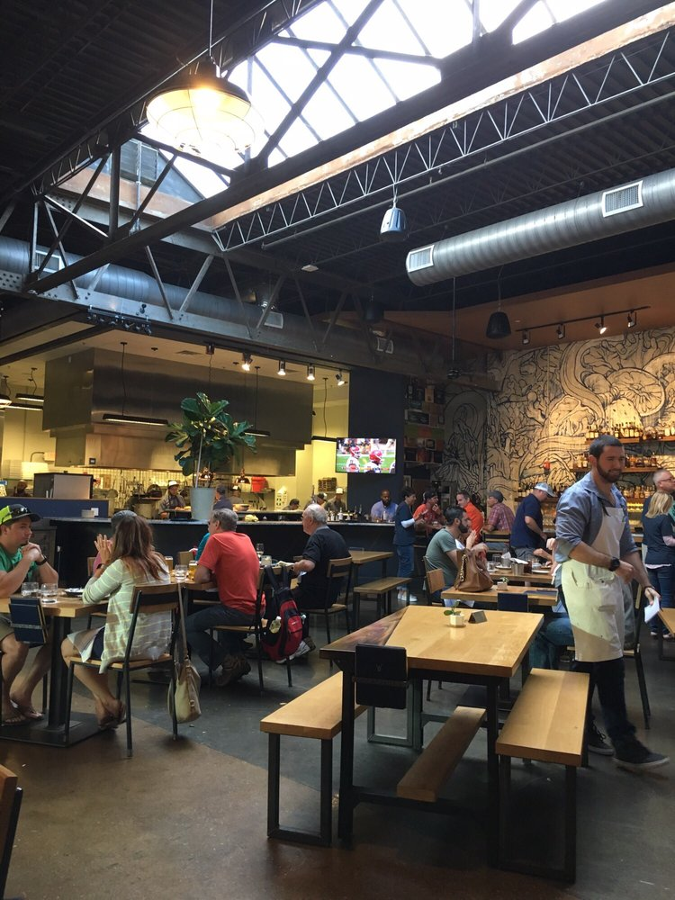 Shot of the spacious space. - Yelp