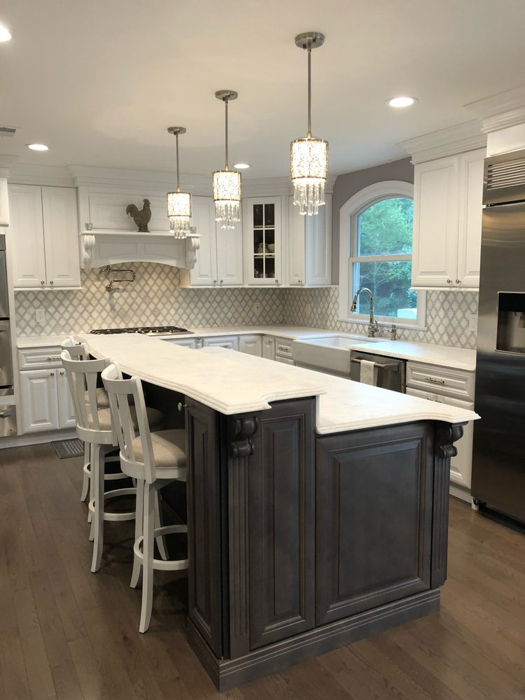 Solid Wood Cabinets 48 Photos Amp 19 Reviews Kitchen