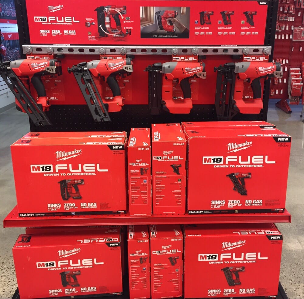 M18 Fuel Milwaukee Tool battery operated Nail Guns.. Come check us ...