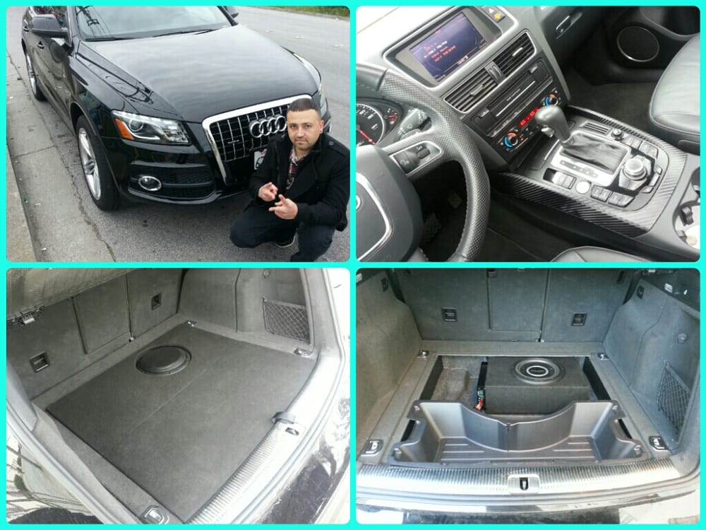 This Is An Audi Q5 That We Built A Custom Sub Enclosure