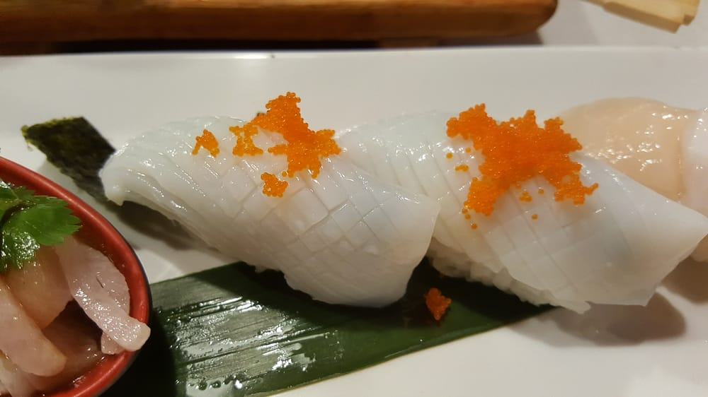 Squid yelp for Akasaka japanese cuisine