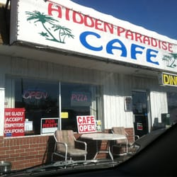 Hidden Paradise Cafe logo