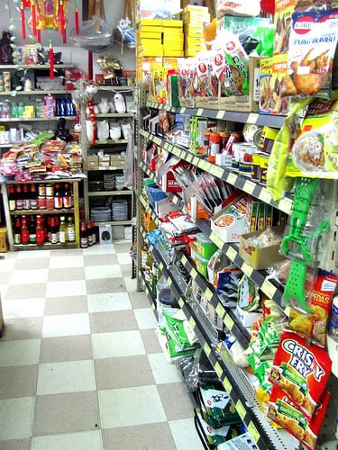 Small Aisles But This Store Is Packed!