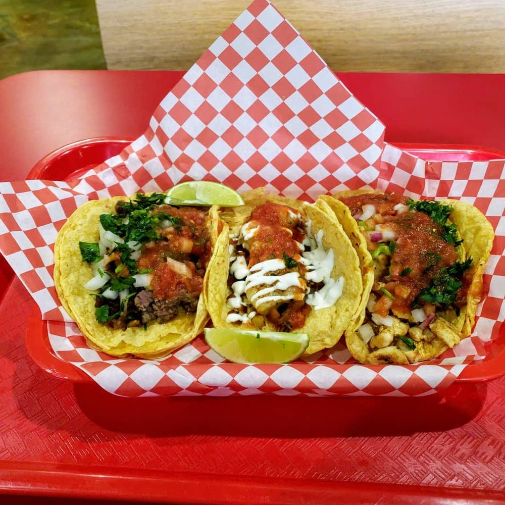 Food from West Coast Taco Shop