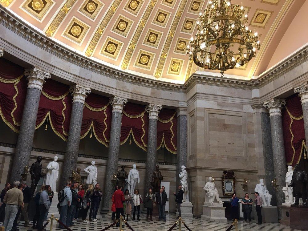 U S Capitol Building Tour