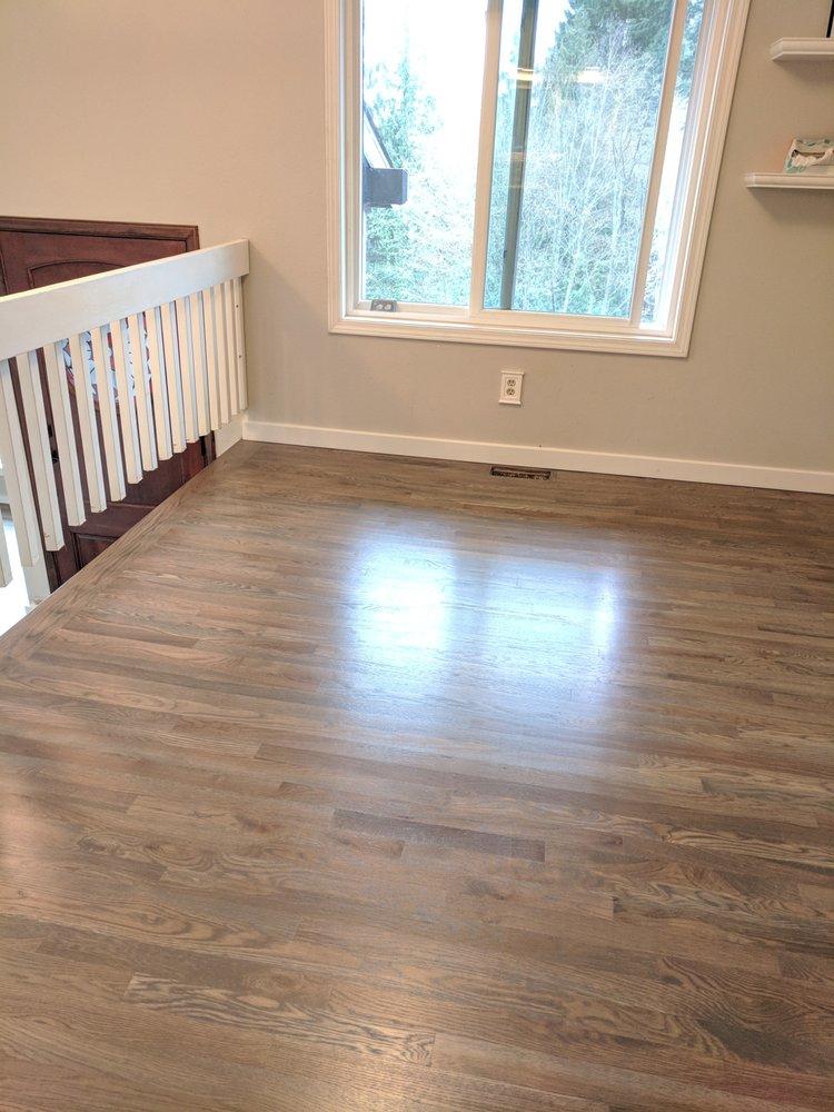 New Wood Floors Classic Gray Minwax On White Oak Yelp