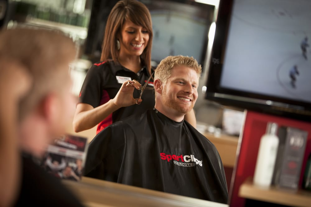 Watch sports on big screen tvs while getting your haircut yelp photo of sport clips haircuts of marina del rey marina del rey ca winobraniefo Choice Image