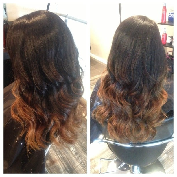 Black Too Light Brown Ombre Yelp