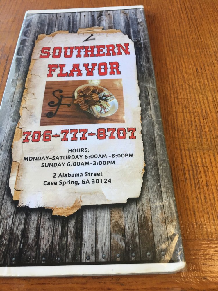Food from Southern Flavor