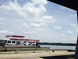 Anchor's Away Houseboat: 140 Iron Mountain Marina Dr, Arkadelphia, AR