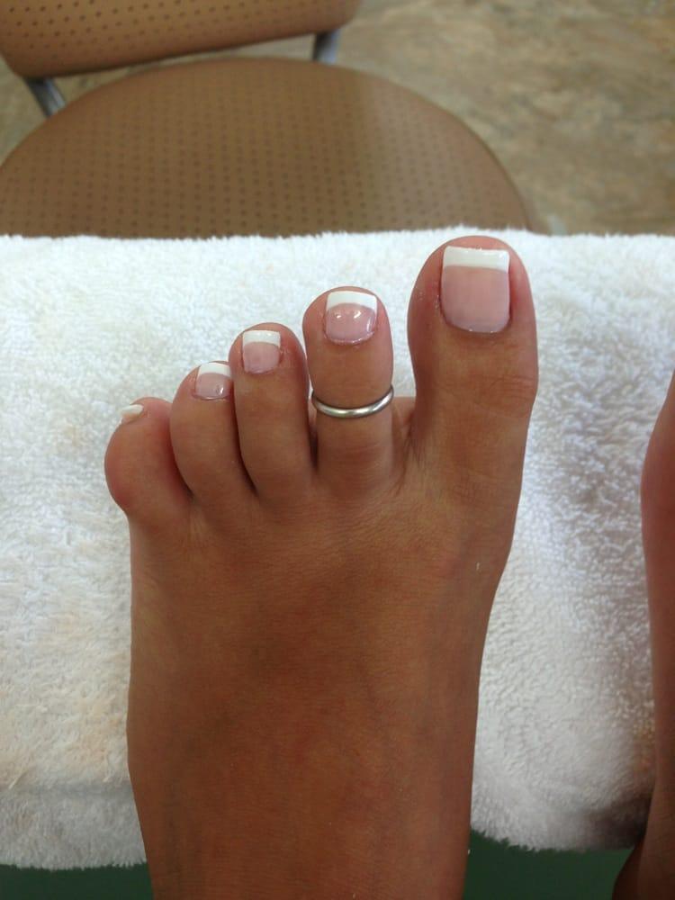 French pedi... Horrible cuz I know I have cute feet - Yelp