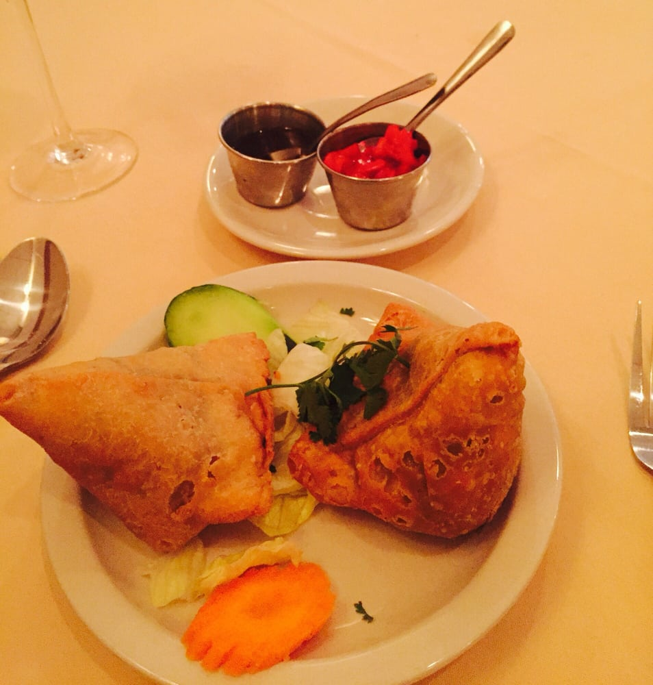 Veggie samosa yelp - Herve cuisine butter chicken ...