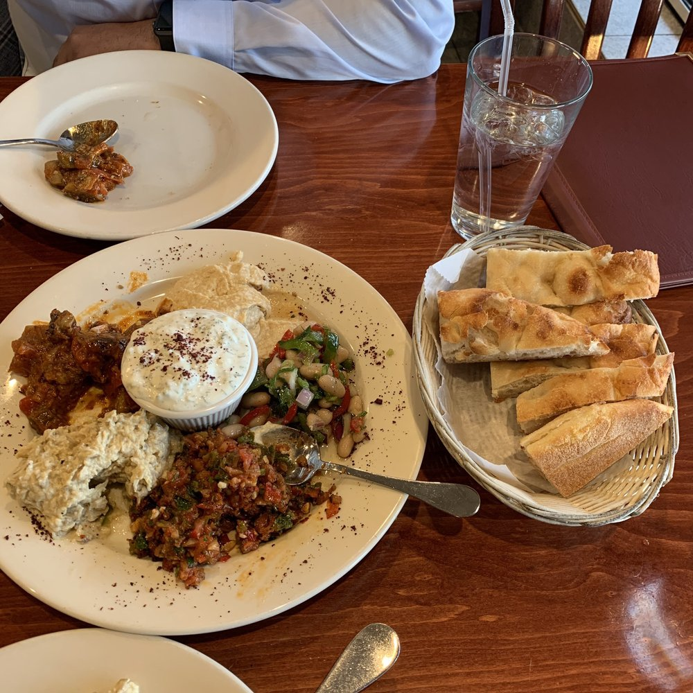 Food from Istanbul Cafe