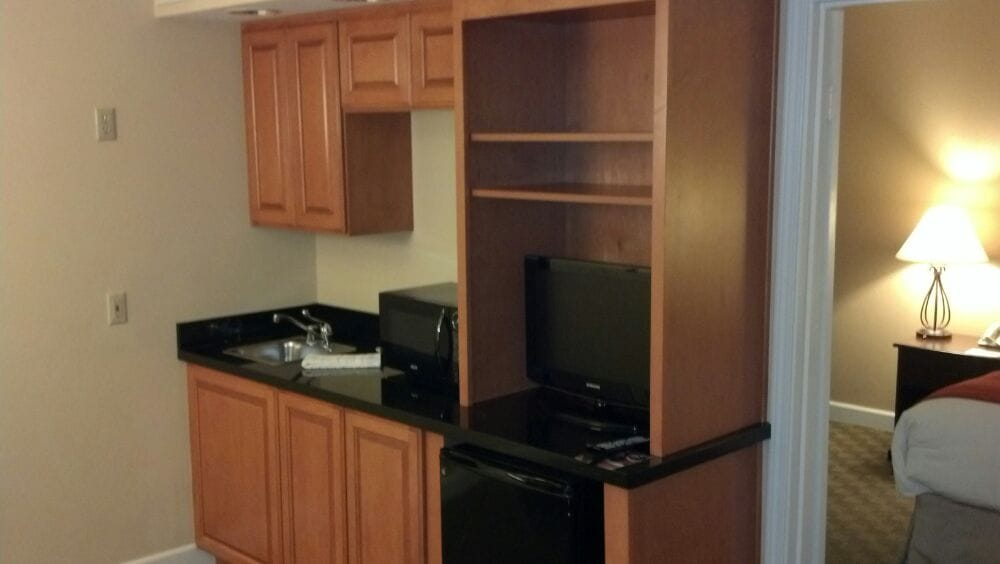 small kitchen area small tv yelp. Black Bedroom Furniture Sets. Home Design Ideas