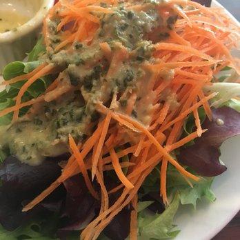 Photo of Lan Ramen-Ya - Coral Gables, FL, United States. Green salad side