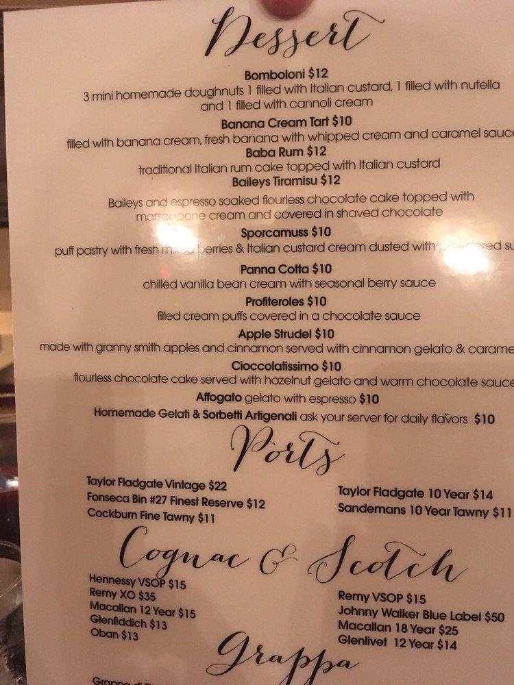 Photo of La Nonna Bella - Garden City, NY, United States. Dessert Menu