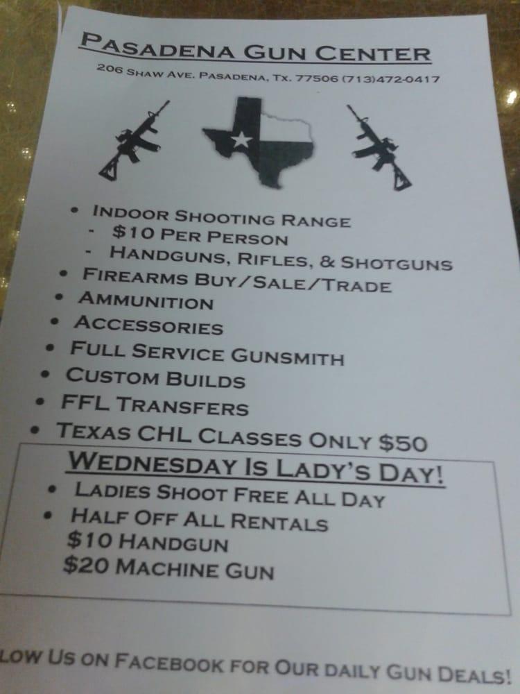 Pasadena Gun Center - 16 Photos & 16 Reviews - Gun/Rifle Ranges ...