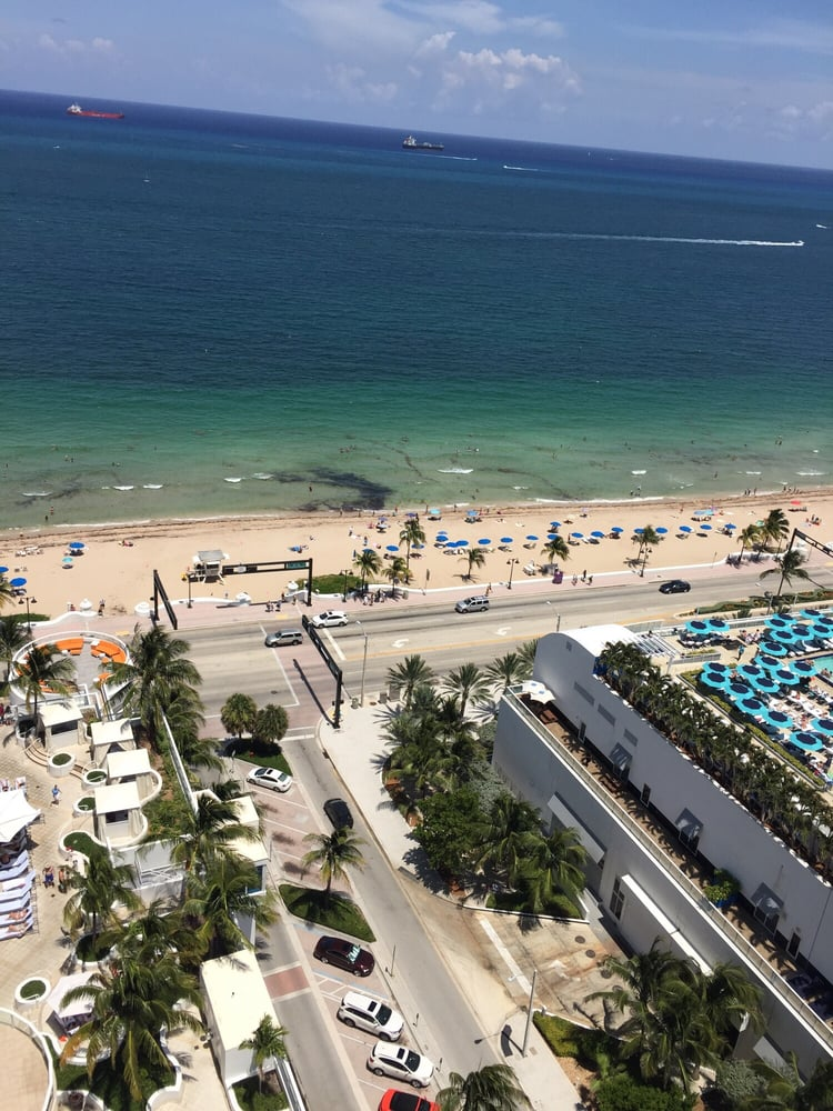 Looking Down On A1A...from The Balcony