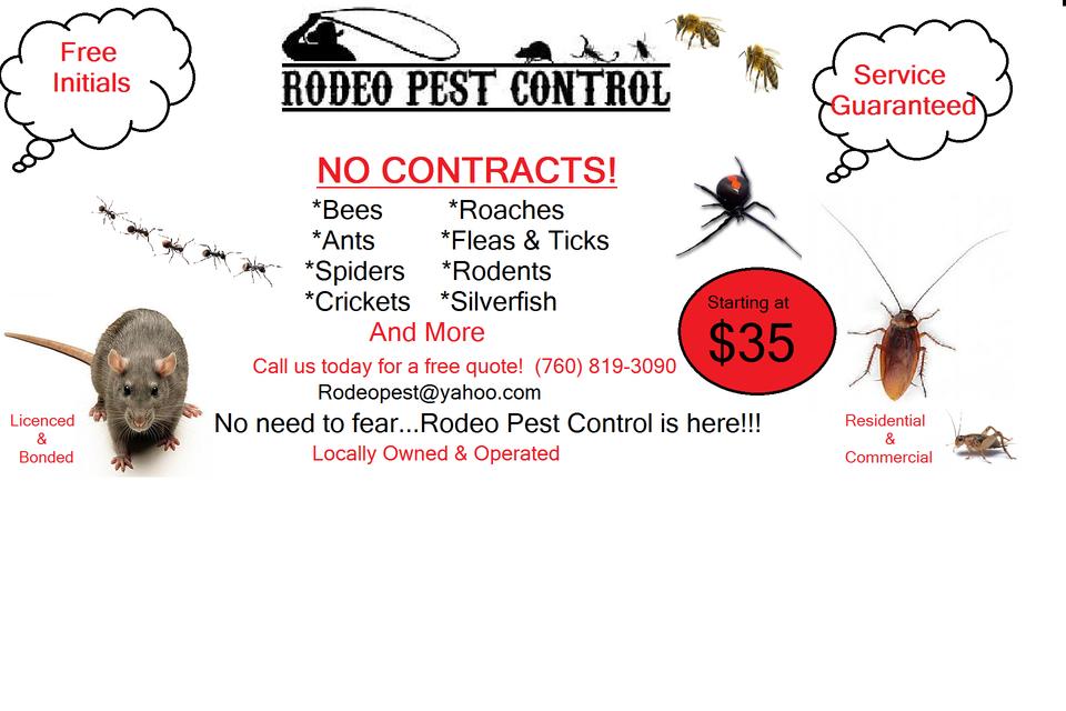Rodeo Pest Control Pest Control 7757 Sage Ave Yucca