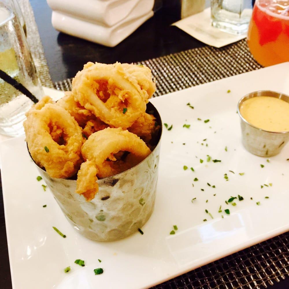 White Oak Kitchen Houston Calamari With Kimchi Aioli Hrw Menu Yelp