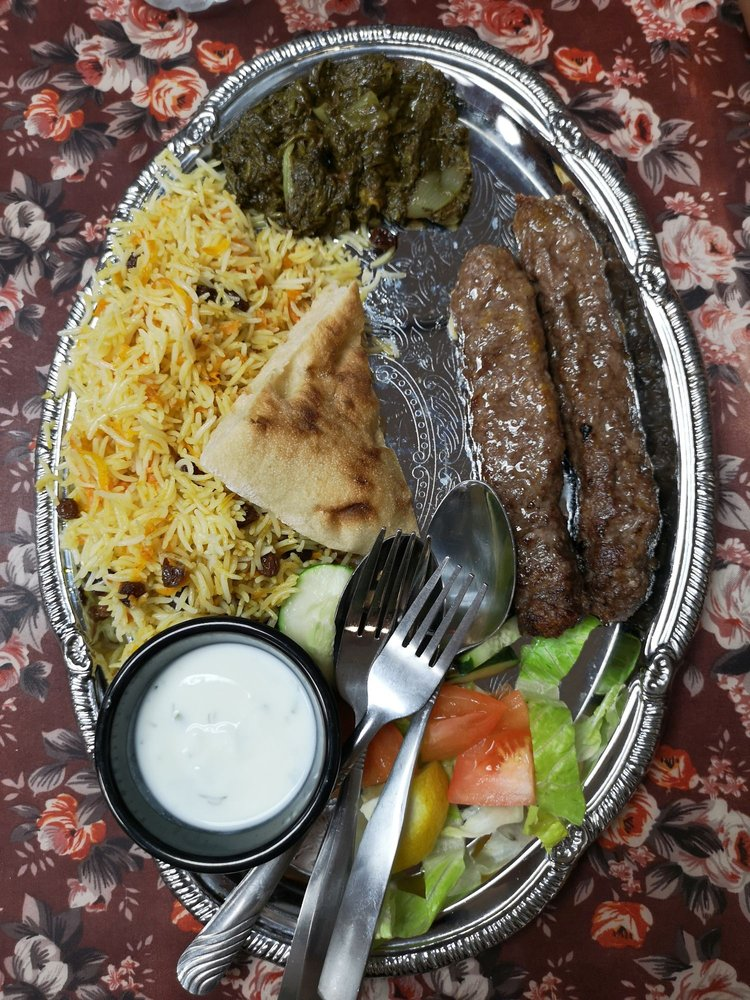 Food from The Kabab Station