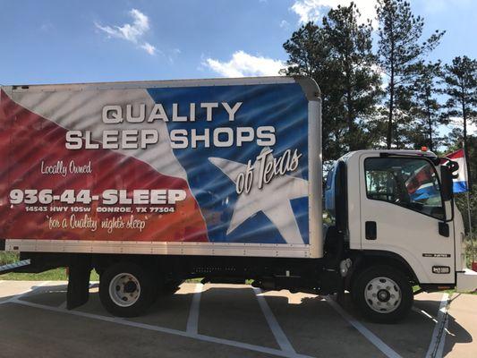 Quality Sleep Shops of Texas 14543 Highway 105 W Conroe, TX