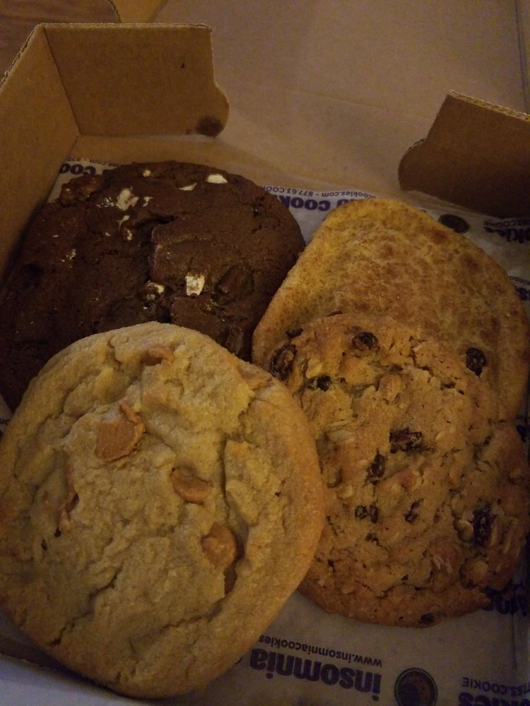 Insomnia Cookies: 421 E Beaver Ave, State College, PA