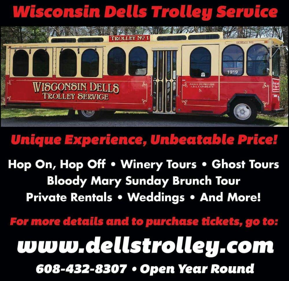 Wisconsin Dells Trolley Service: Wisconsin, WI