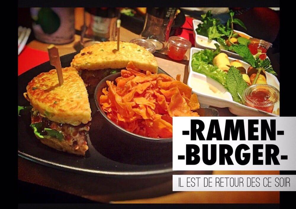 one and only in paris le premier le vrai ramen burger yelp. Black Bedroom Furniture Sets. Home Design Ideas
