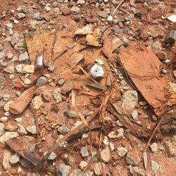 Photo Of Sk Builders Greer Sc United States Trash Buried In Yard