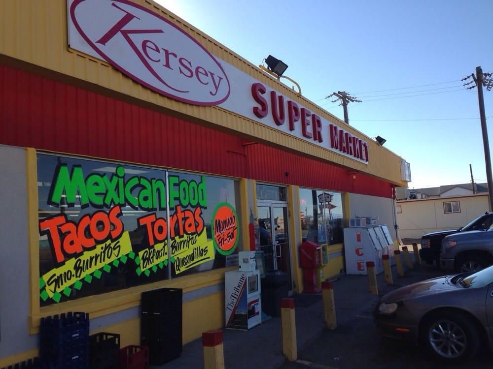 Kersey Super Market: 320 Hill St, Kersey, CO