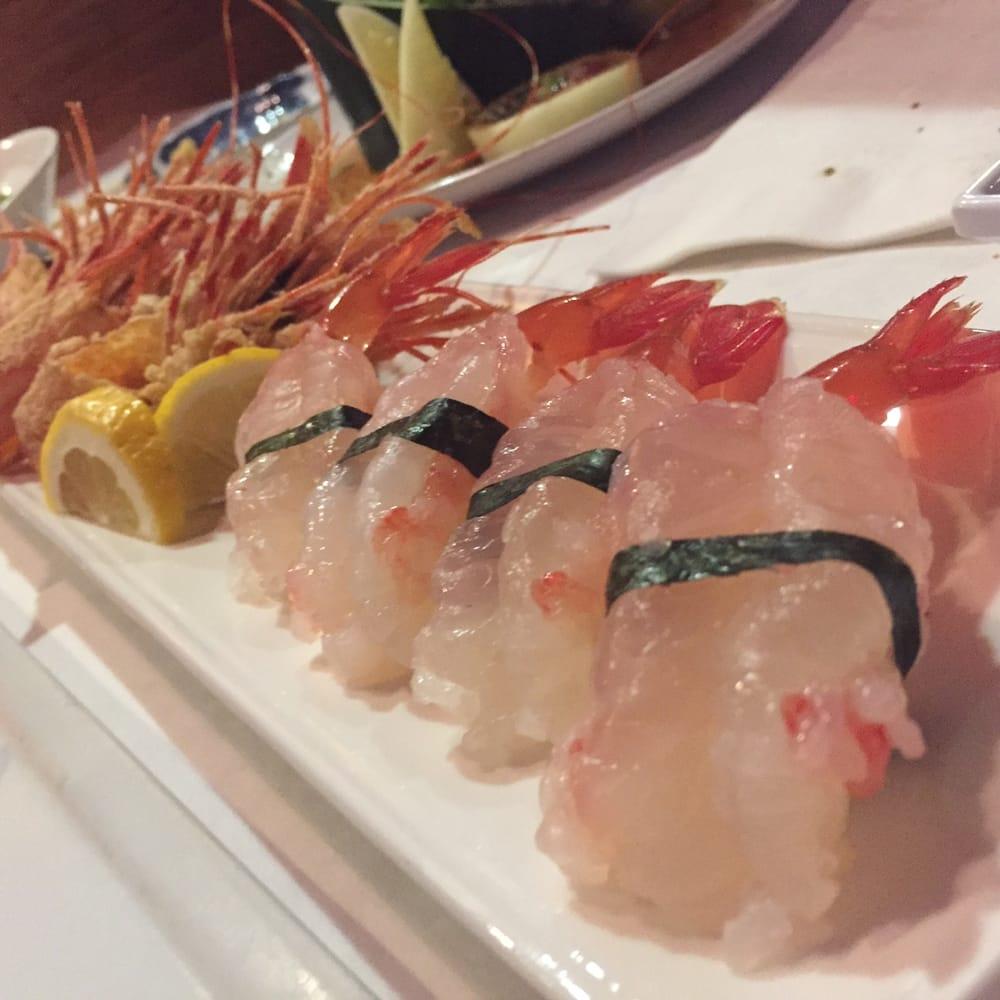 Raw Shrimp Sushi Melt In My Mouth Yelp