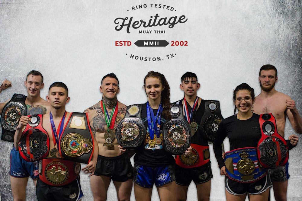 Heritage Muay Thai: 1604 W 34th St, Houston, TX