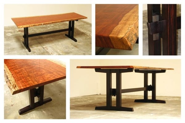 Photo Of Tassajara Designs   Carlsbad, CA, United States. Bubinga Dining  Table With