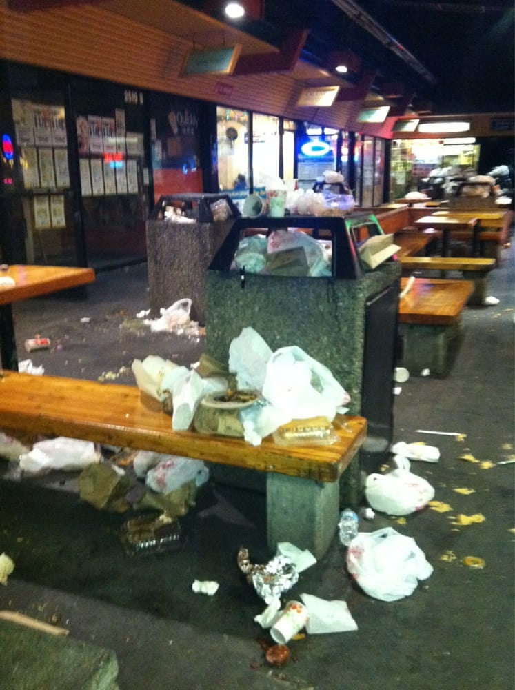 Asian Ghetto At Night.. :O Good Thing They Clean It Every