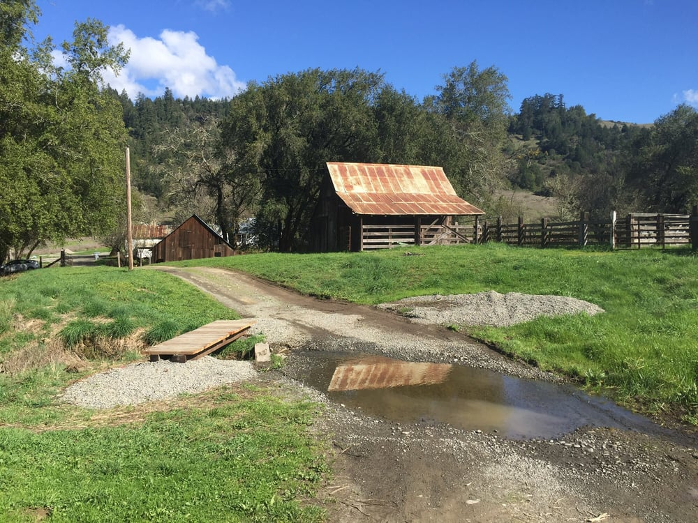 Southern Humboldt Community Park: 934 Sprowl Creek Rd, Garberville, CA