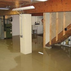 Photo Of Rightway Waterproofing   Philadelphia, PA, United States. Flooded  Basement After Hurricane