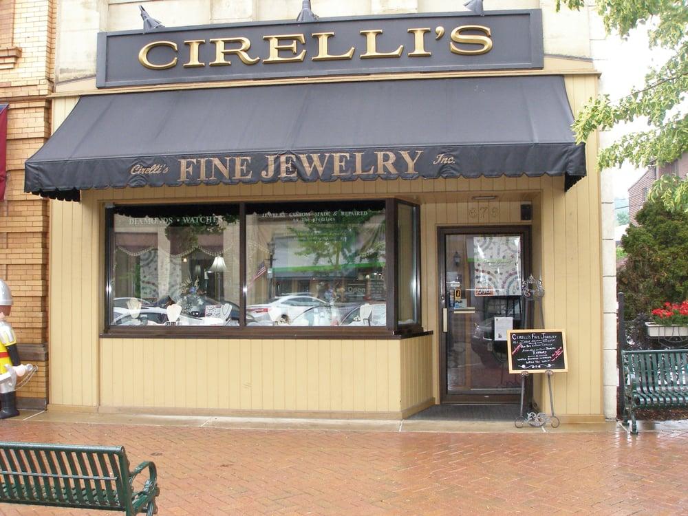 Cirelli's Fine Jewelery: 676 3rd St, Beaver, PA