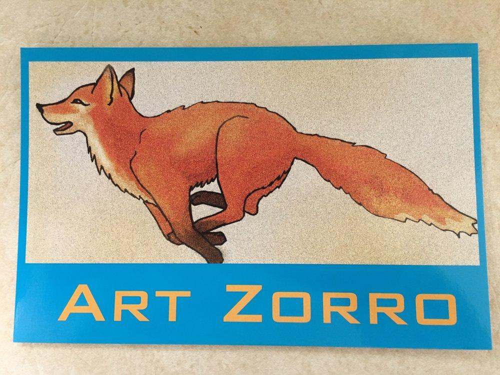 Art Zorro: 928 Grant Ave, Novato, CA