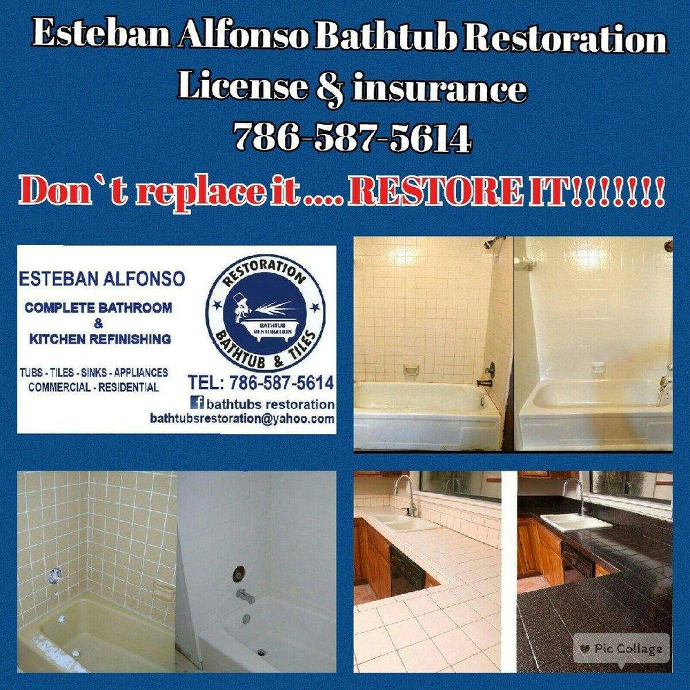 Bathtub Restoration - Contractors - Miami, FL - Phone Number - Yelp