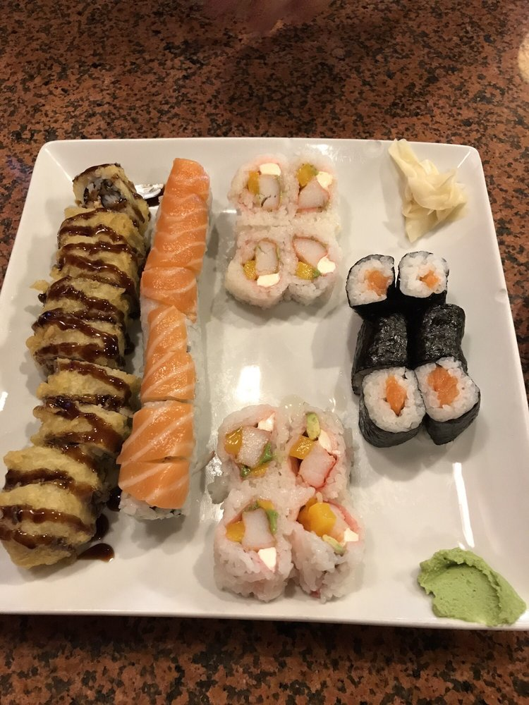Food from Takara Sushi