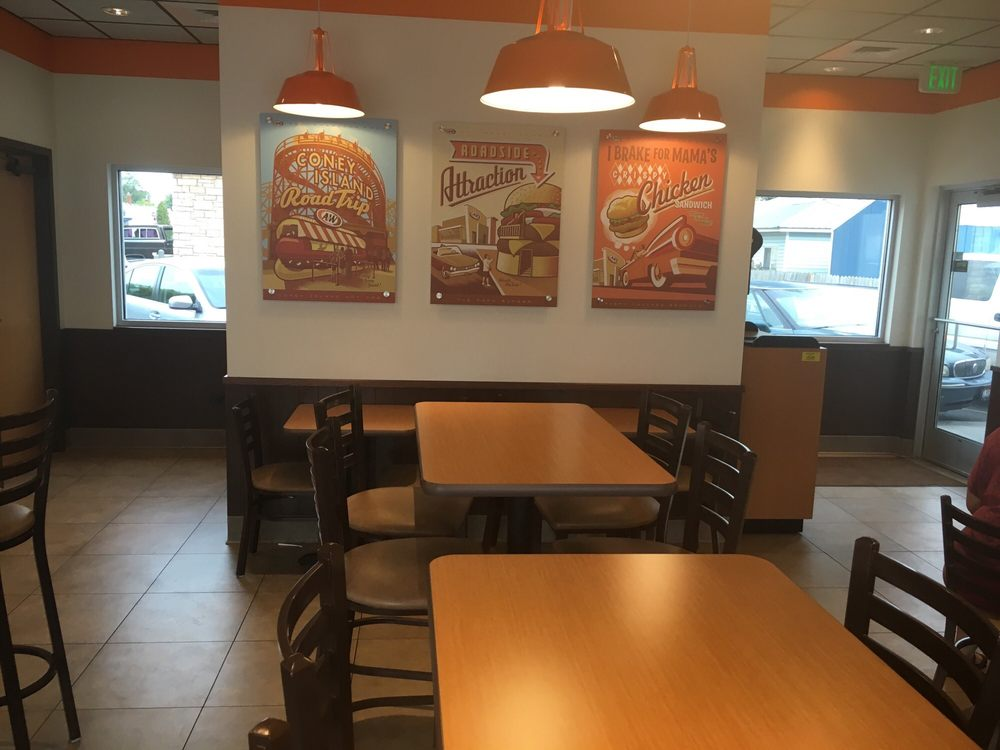 A&W Restaurant: 1335 N Arthur, Pocatello, ID