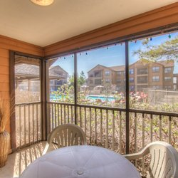 Photo Of Campus Lodge Apartments   Norman, OK, United States. Screened Patio